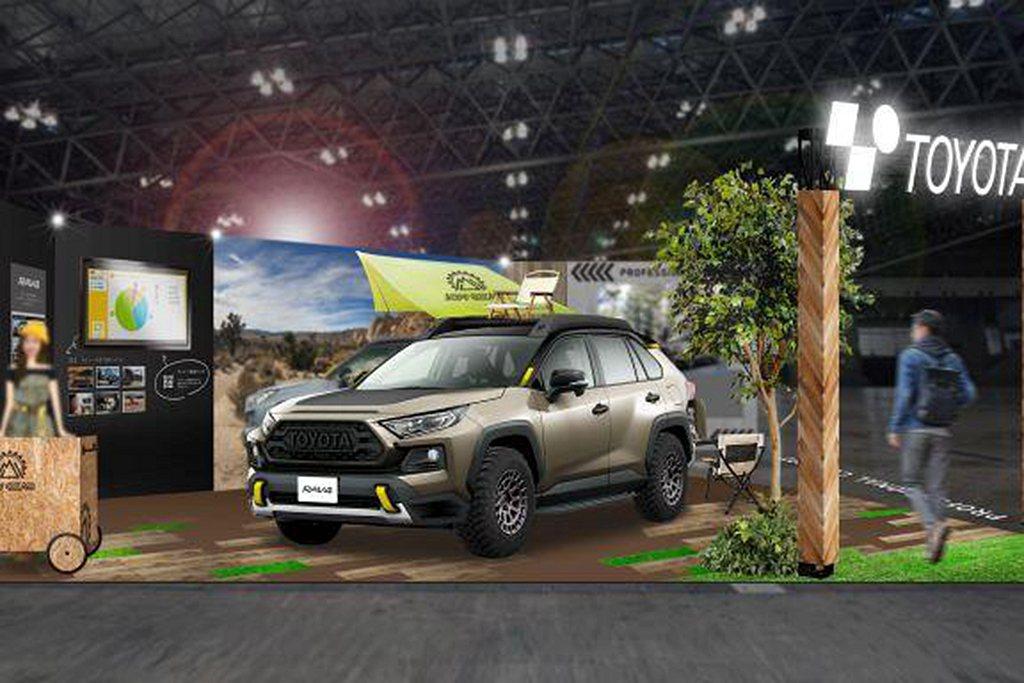 Toyota RAV4 Adventure Gear概念車,透過換裝多用途胎款、...