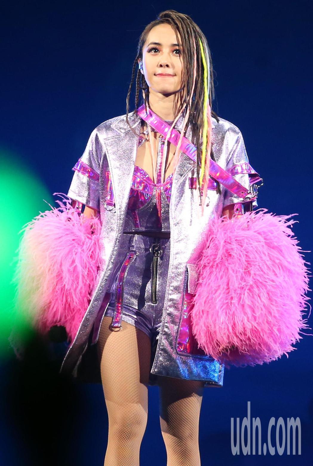 蔡依林「Ugly Beauty」演唱會昨晚進行台北站第二場圓滿落幕。記者侯永全/...