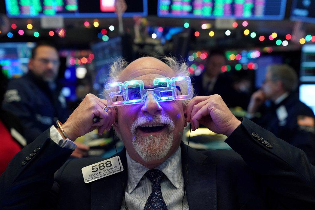 2019年美股繳出近年來最佳年度表現。 路透