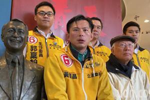 影/<u>黃國昌</u>:不缺特偵組 缺像陳定南的人當法務部長