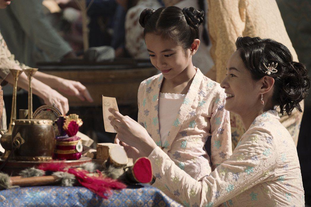 Janet演出「彼岸之嫁」,戲中飾演女主角麗蘭的媽媽。圖/Netflix提供
