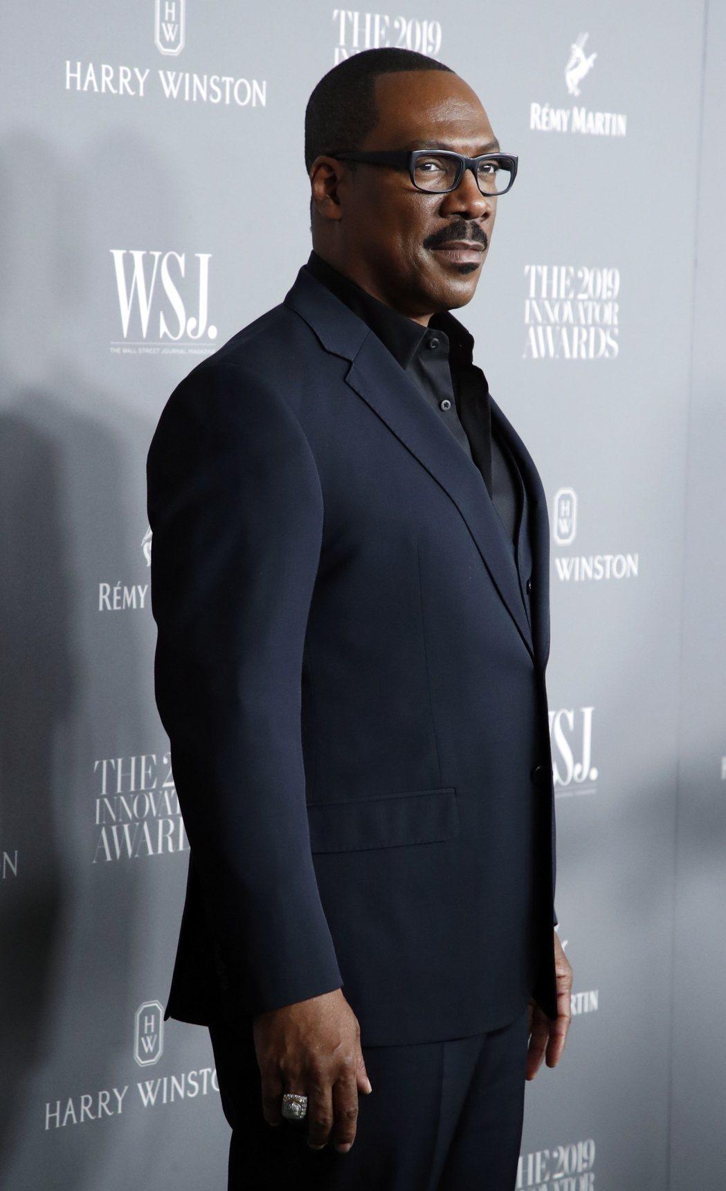 艾迪墨菲被預言可望得到金球獎最佳音樂或喜劇電影男主角。圖/歐新社資料照片