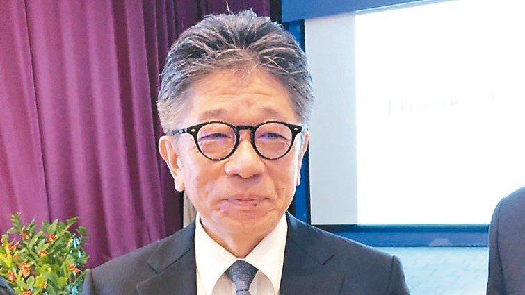 超眾董事長永井淳一 報系資料照