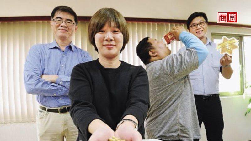 榮町投資公司總監 蔡泳瀠(左2)。 攝影/程思迪