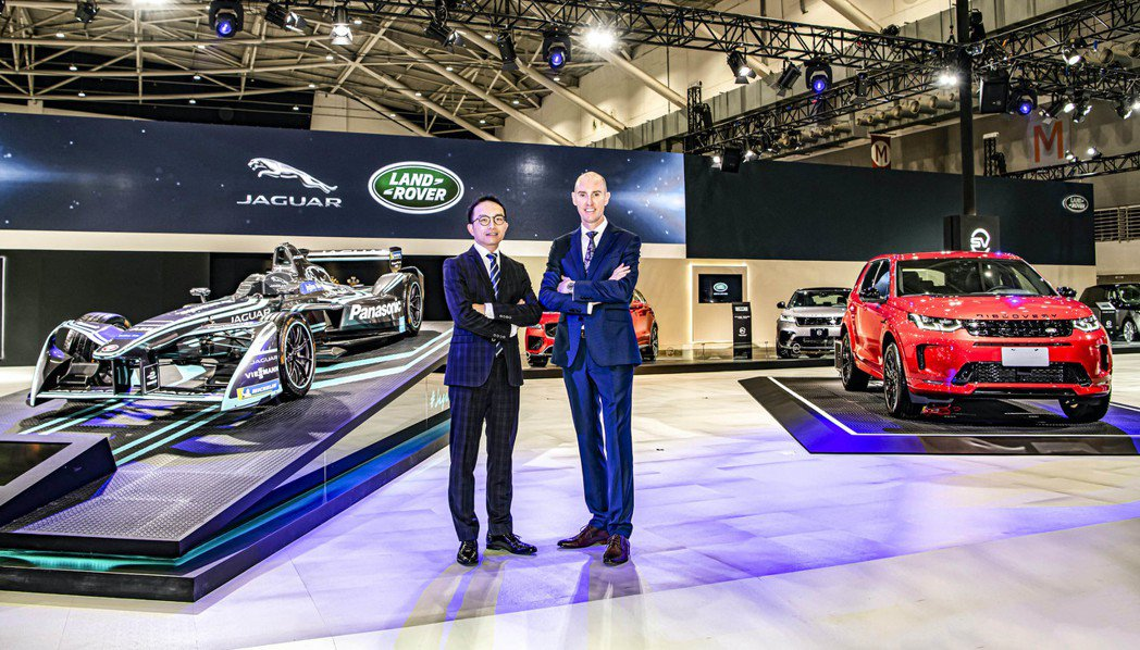 Jaguar Land Rover Taiwan台灣捷豹路虎總經理Garth T...