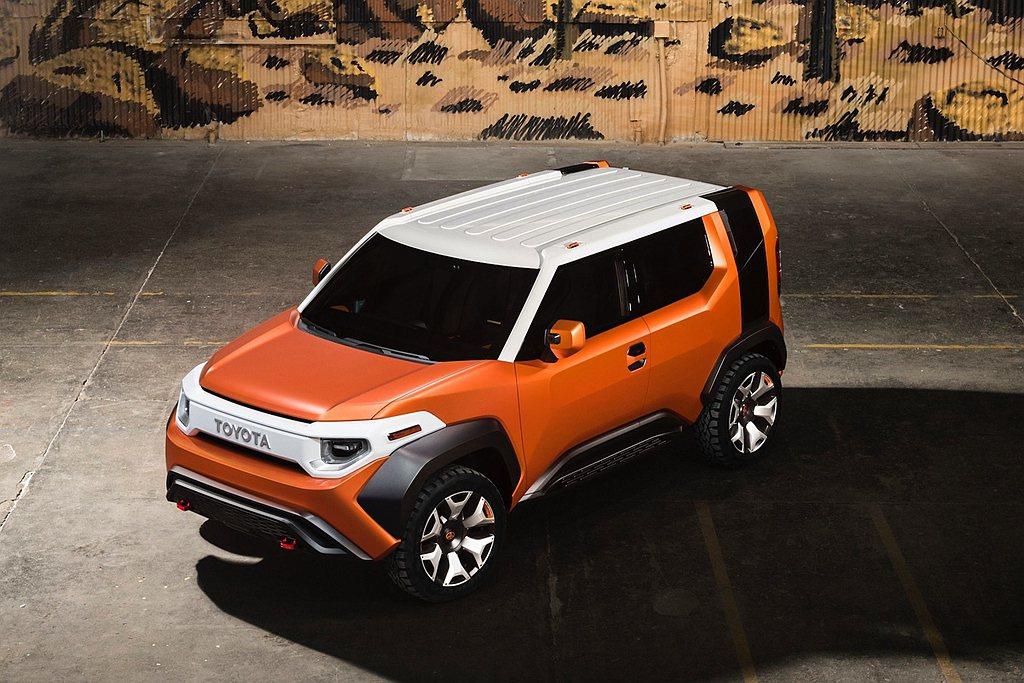 Toyota積極佈局美國市場,更將在2021年帶來一款新作品。 圖/Toyota...