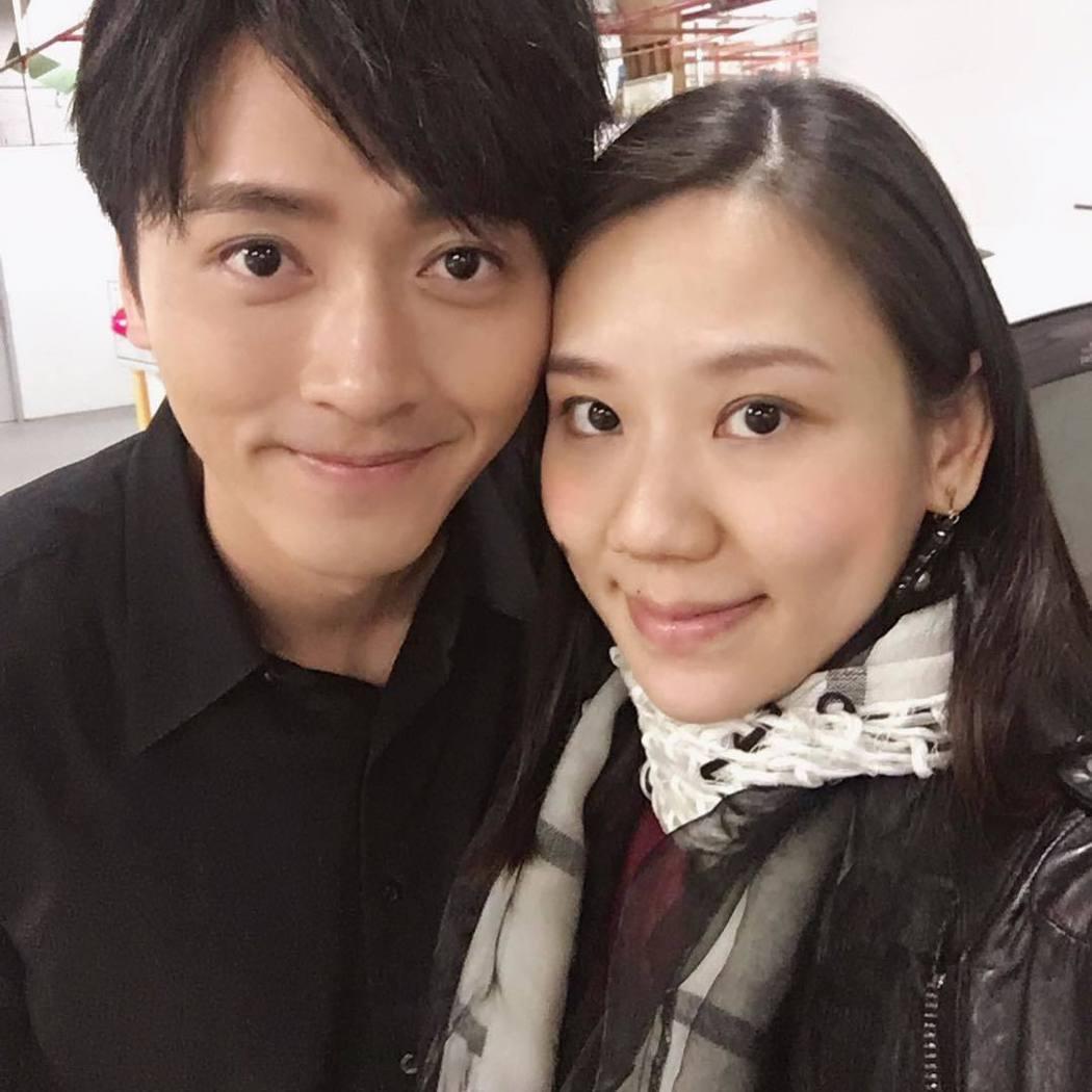 馬俊麟與老婆梁敏婷。圖/擷自IG