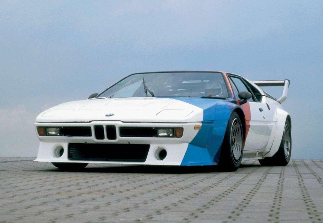BMW M1 Procar。 圖/BMW提供