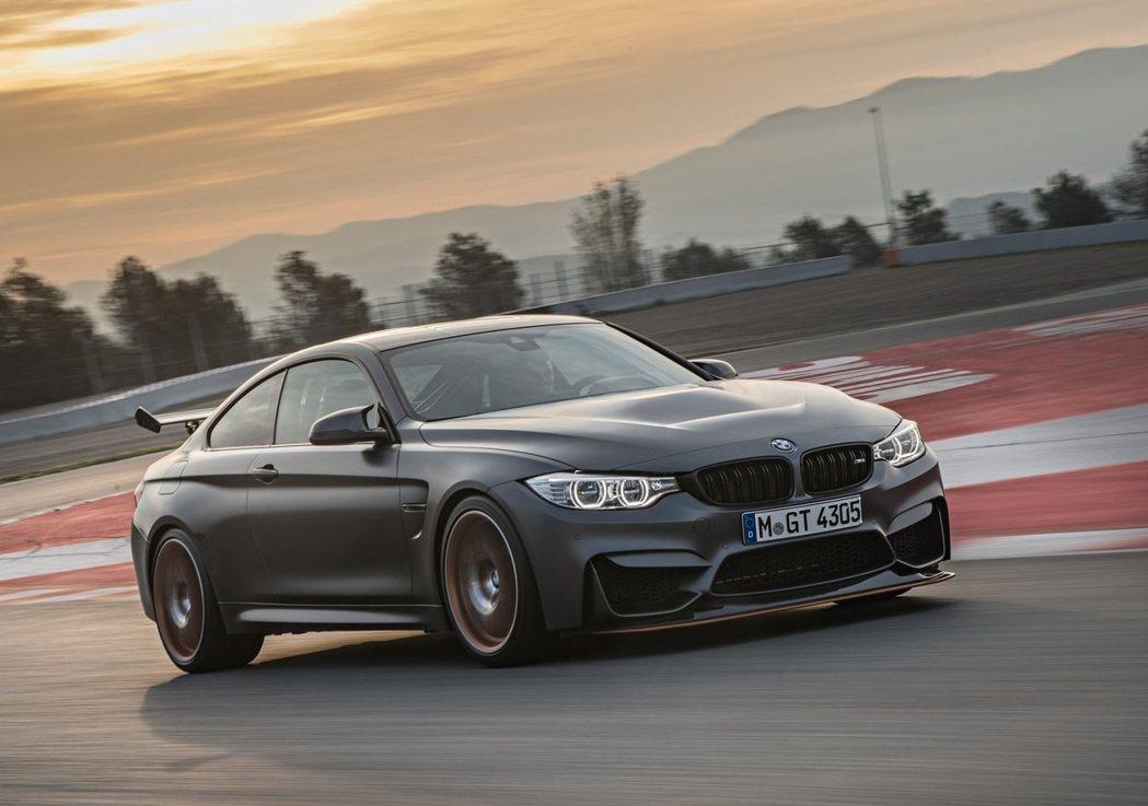 BMW M4 GTS。 圖/BMW提供