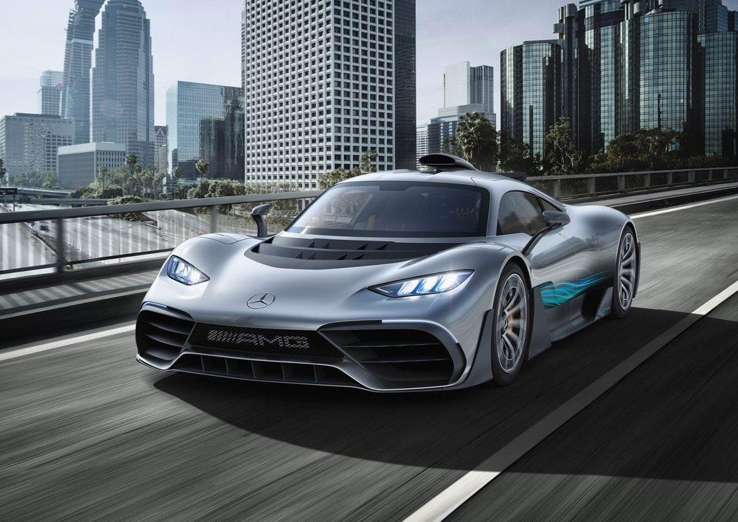 Mercedes AMG One。 圖/Mercedes AMG提供