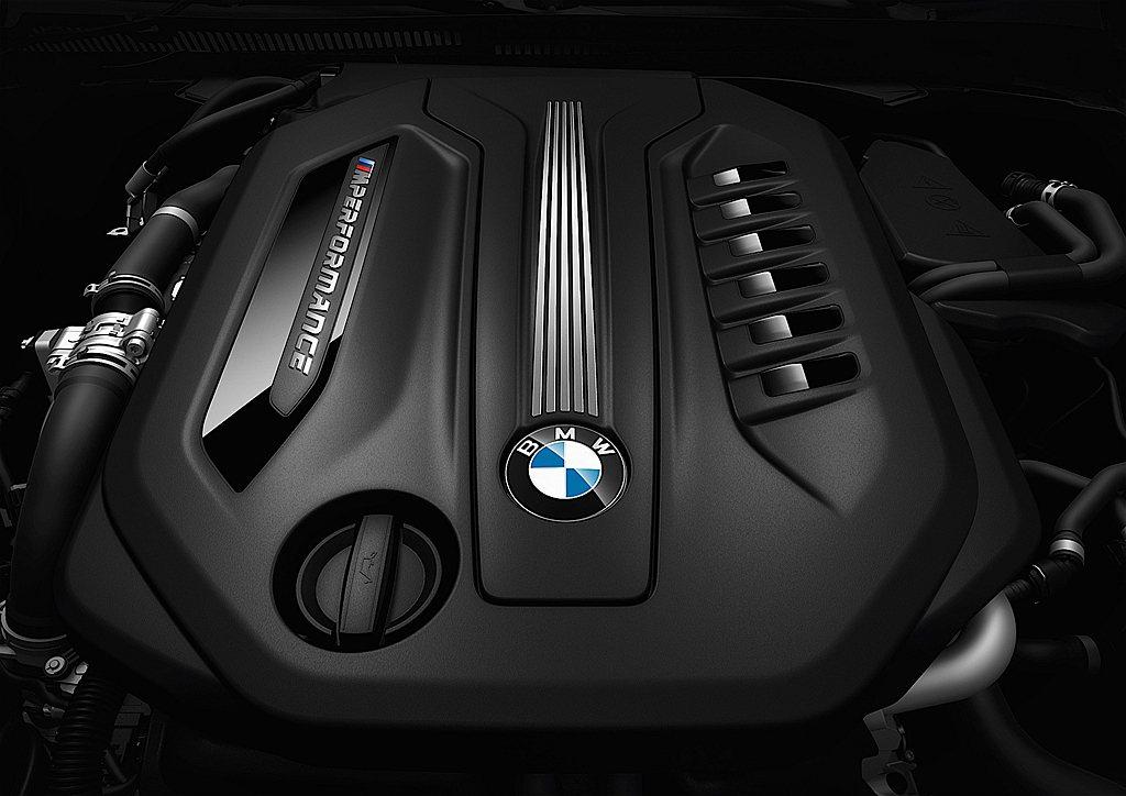 代號B57D30S0的3.0L直列六缸、四渦輪增引擎,不僅才在2016年推出市場...