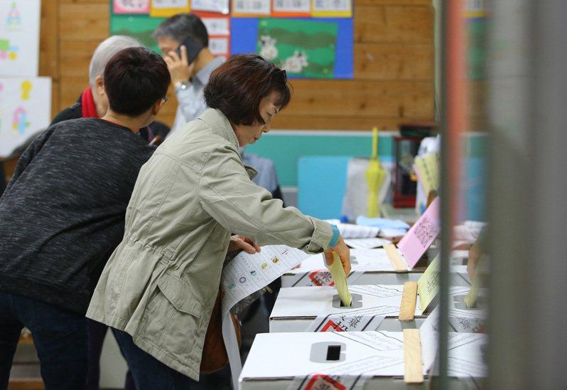 2020總統大選今天投票。 記者陳柏亨/攝影