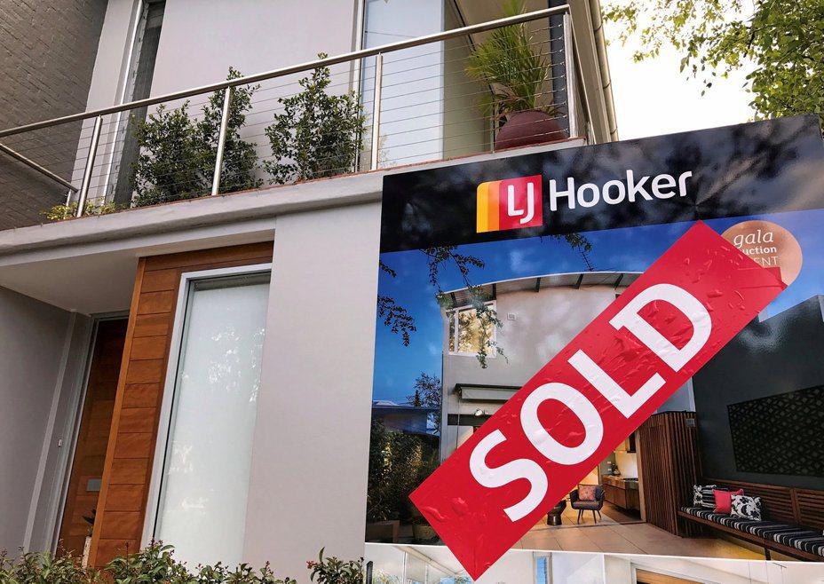 澳洲房地產上季創近十年最大漲幅。  路透