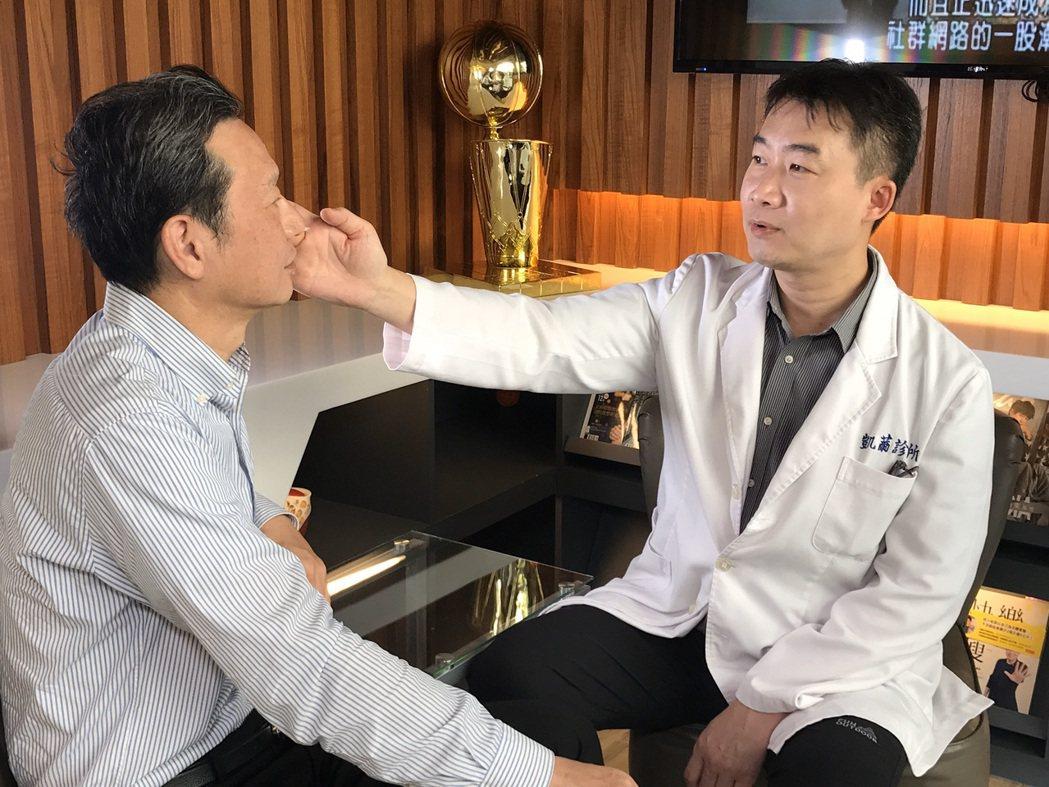 林立人醫師建議事前一定要到醫院或診所尋求專業醫師的諮詢與溝通。記者許玉娟/攝影