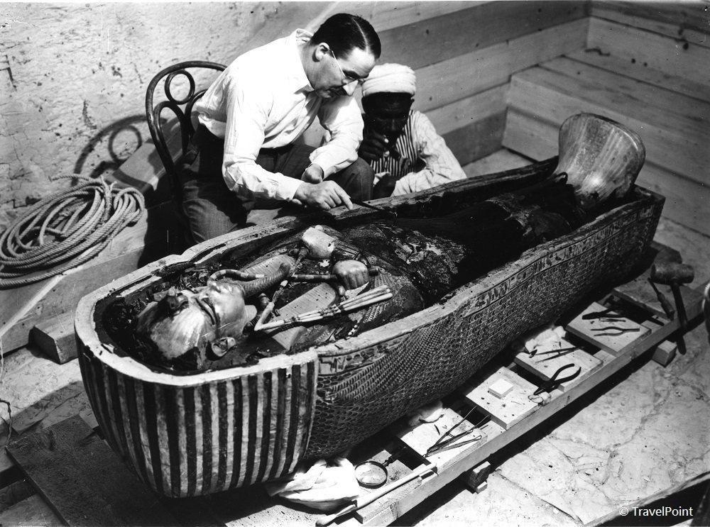 1922年圖坦卡門古墓密室被發掘現場。(圖/主辦單位聯合數位文創提供)