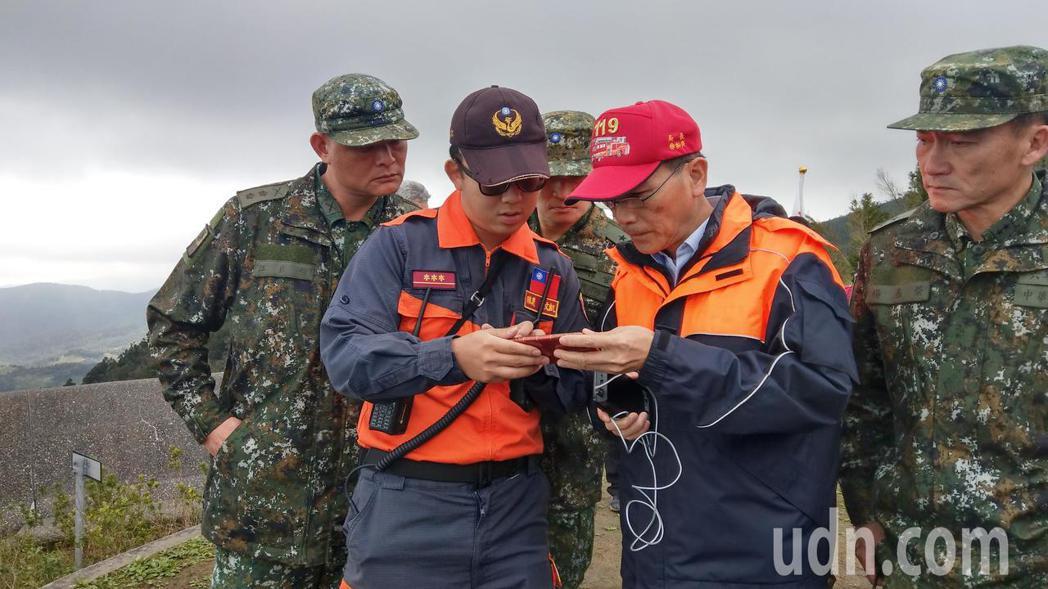 好消息!宜蘭搜救大隊接觸到生還者,山區訊號不良,斷斷續續。
