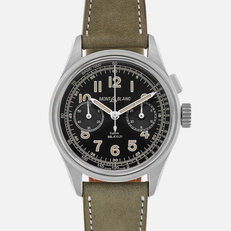 Montblanc,1858系列單按把計時腕錶HODINKEE限量表款,97萬8...