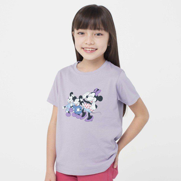 女童Disney Stories系列短袖UT,售價290元。圖/UNIQLO提供
