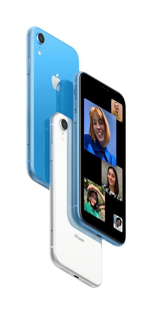 法雅客、iStore熱銷第二名iPhone XR,21,500元起。圖/法雅客提...