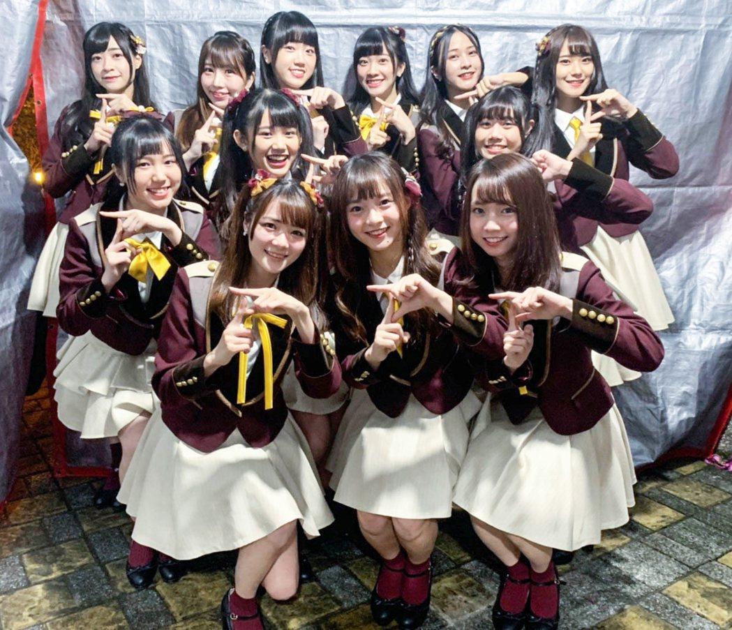 國民女團AKB48 Team TP人氣紅不讓,2019交出亮眼成績單。圖/好言娛