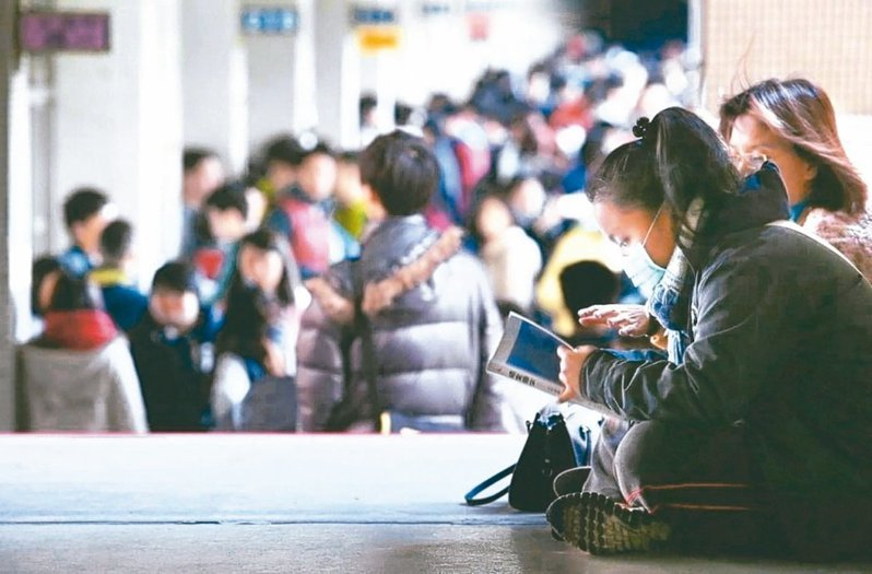 13.3萬多人報考的大學學測17-18日登場。圖/聯合報系資料照片