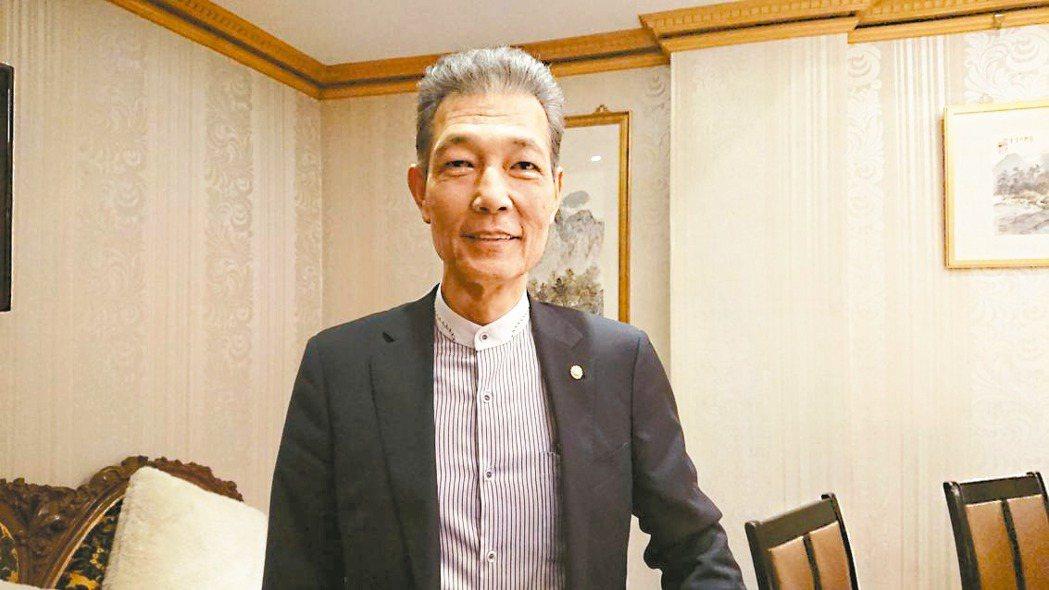 捷流閥業董事長楊大中看好2020年營運展望比去年好。 記者黃淑惠/攝影