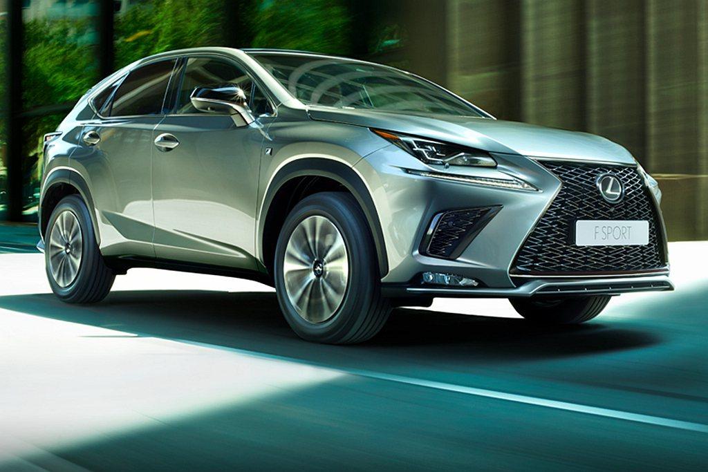 以豪華品牌來說,Lexus NX是最熱賣的休旅車款。 圖/Lexus提供