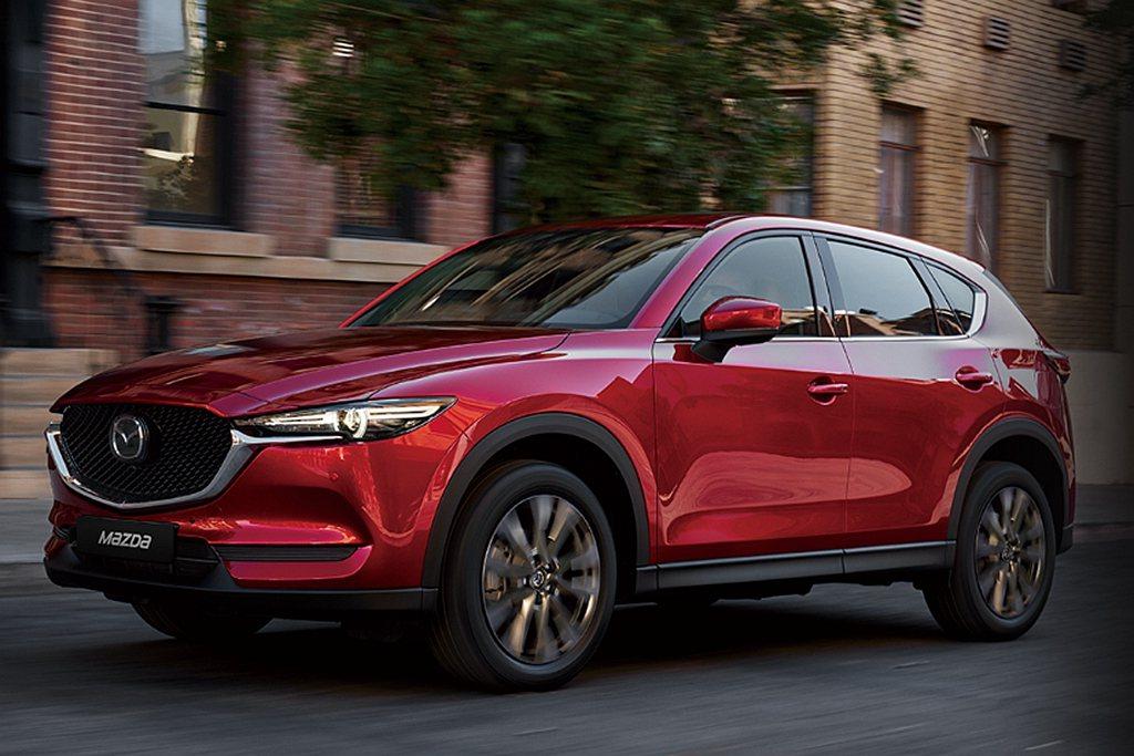 銷售穩紮穩打的Mazda CX-5,2019年共銷售出5,514台。 圖/Maz...