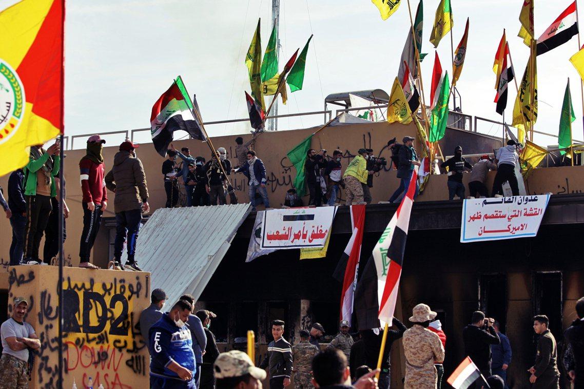 美國與伊拉克、伊朗的「短兵相接」,始於2019年12月31日的「巴格達美國大使館...
