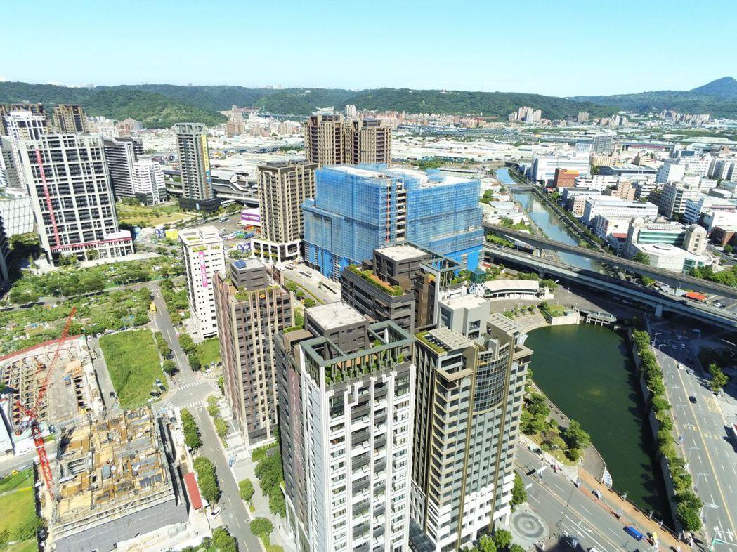 新莊副都心各項公共建設到位,前景發展看好。 業者/提供