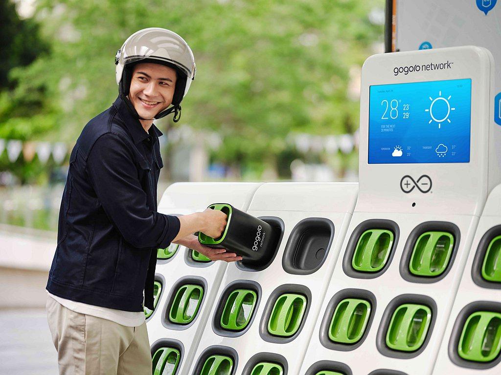 Gogoro Network智慧電池運用全新的21700電池芯技術,單顆電池蓄電...