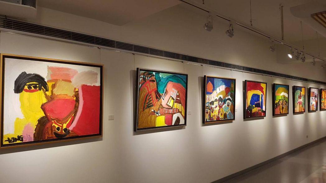 台灣年輕的油畫家莊惠婷,作品洋溢著單純、幸福,如天使的心境,她創作方式是從生活閱...