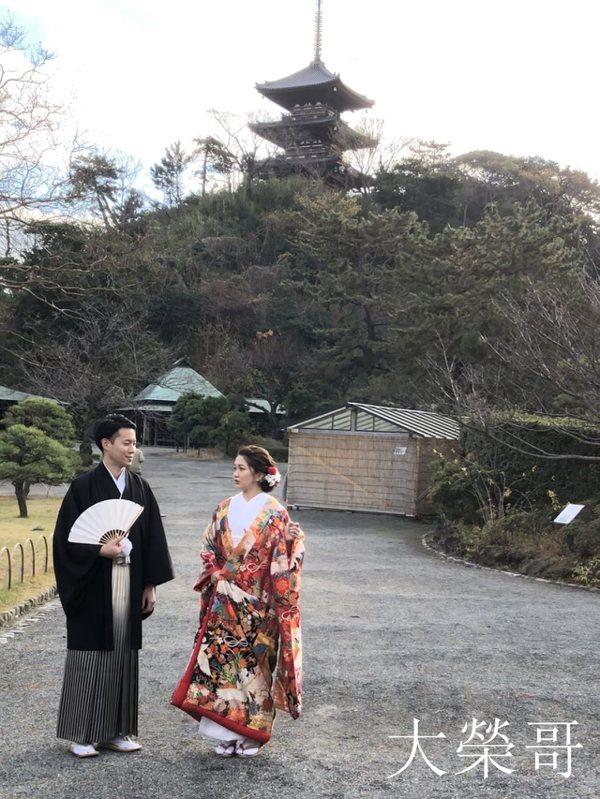 13.園內有很多在此舉行婚禮的新人或拍攝照片的情侶。參訪當天也巧遇了拍攝中的團隊,連我都感染了幸福的氣息。