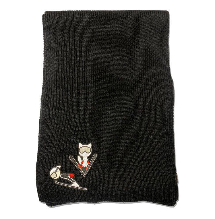 APRES滑雪系列KARL圍巾,售價3,680元。圖/Weng Collecti...
