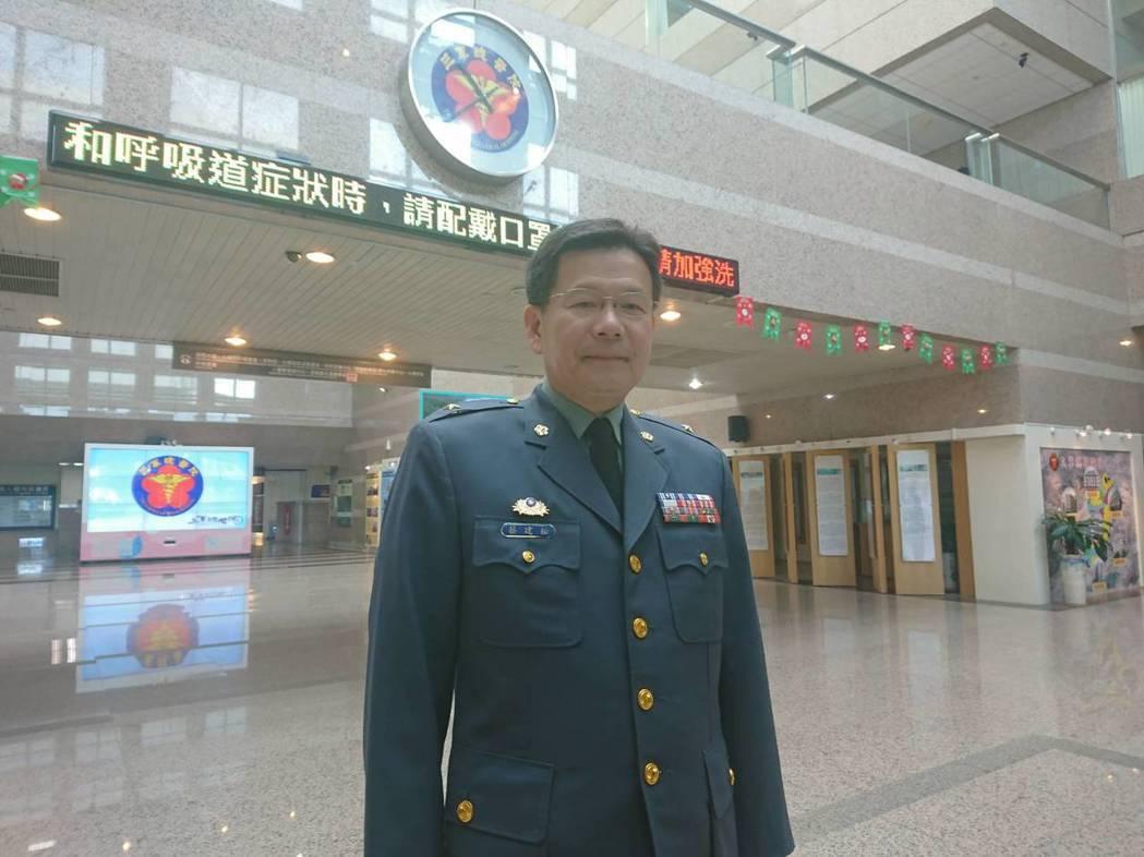 三軍總醫院院長蔡建松。記者羅真/攝影