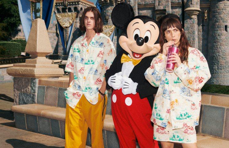 由攝影師Harmony Korine在加州迪士尼樂園拍攝的GUCCI 2020新...