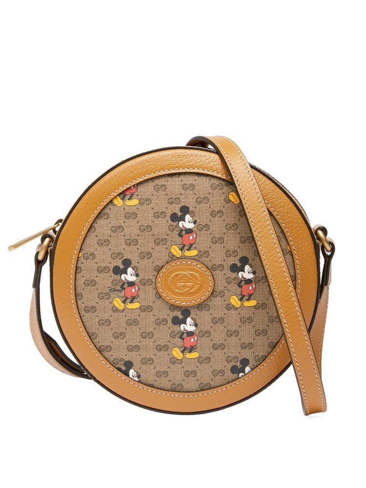 米奇肩背小圓包,售價40,900元。圖/GUCCI提供