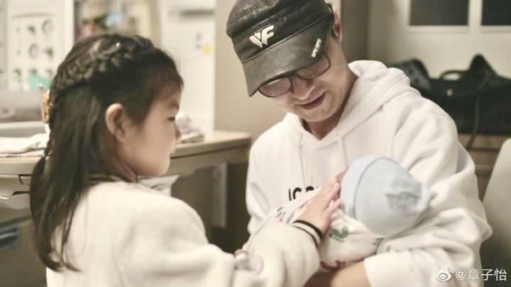 章子怡宣布產下第二胎。圖/章子怡微博