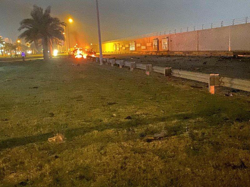 美國承認3日派出無人機在伊拉克巴格達機場發動空襲,殺死伊朗革命衛隊精銳聖城旅指揮官蘇雷曼尼。路透