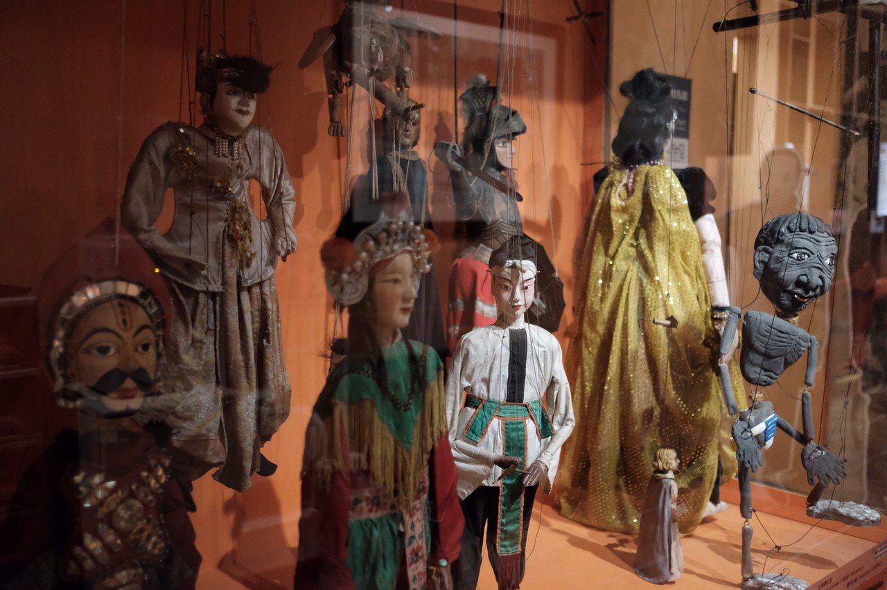 台原亞洲戲偶博物館由林經甫創辦,保存許多珍貴偶戲。圖/林經甫提供