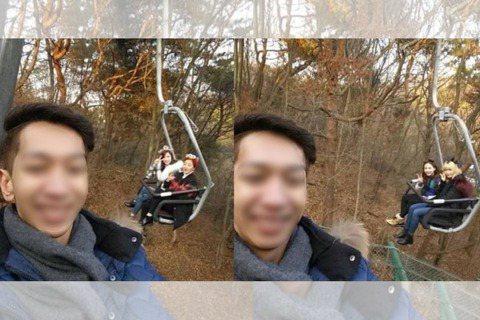 日前有位幸運網友,在網路上分享到愛寶樂園玩的照片,恰巧與TWICE成員一同合照,讓網友們直呼超羨慕!最近韓國網站曝光了一位男網友到愛寶樂園玩的照片,當時他只是想要與纜車合照,豈料背後的那台纜車上搭乘...