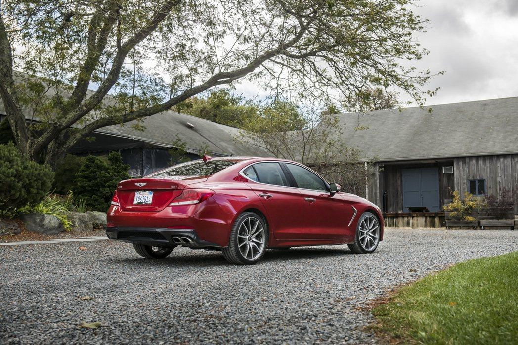 Genesis G70的優異表現,是Genesis在2019年於北美市場能夠大幅...