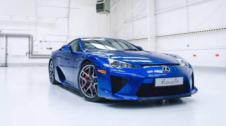傳奇超跑還有現貨! 美國去年賣出三台全新Lexus LFA