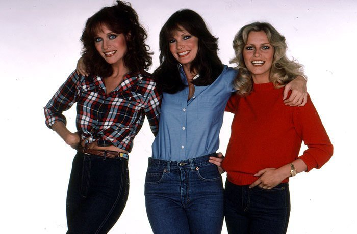 妲雅羅勃茲(左起)、賈桂琳史密斯、雪莉賴德是「霹靂嬌娃」最後一季的陣容。 圖/摘...