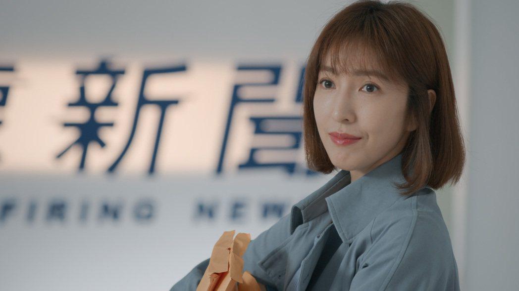 楊謹華在「鏡子森林」中飾演一名新聞調查組組長,性格犀利孤傲。圖/公視提供