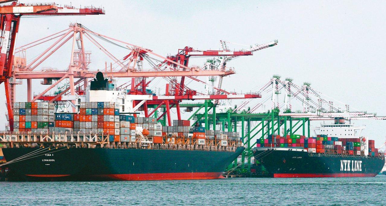 財政部七日將公布去年十二月海關進出口統計。圖/聯合報系資料照片