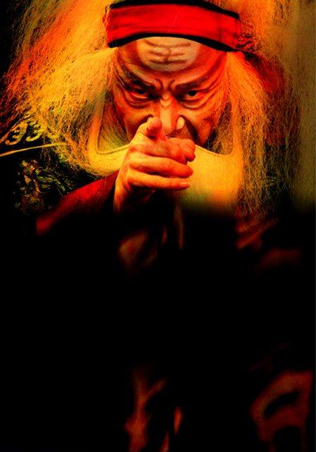 當代傳奇劇場《李爾在此》,由吳興國受邀前往智利聖地牙哥國際藝術節演出。 中央社