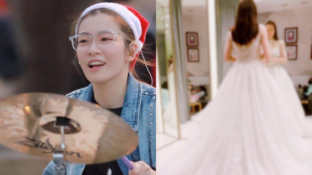羅小白1月5日舉行婚禮。 圖/擷自羅小白臉書