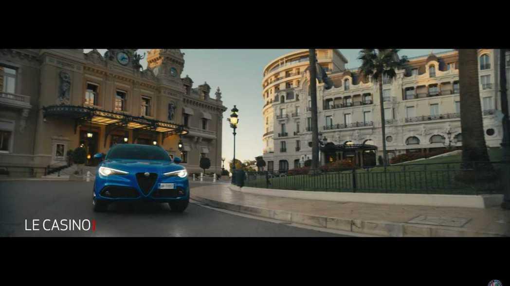 蒙地卡羅賭城廣場。 摘自Alfa Romeo