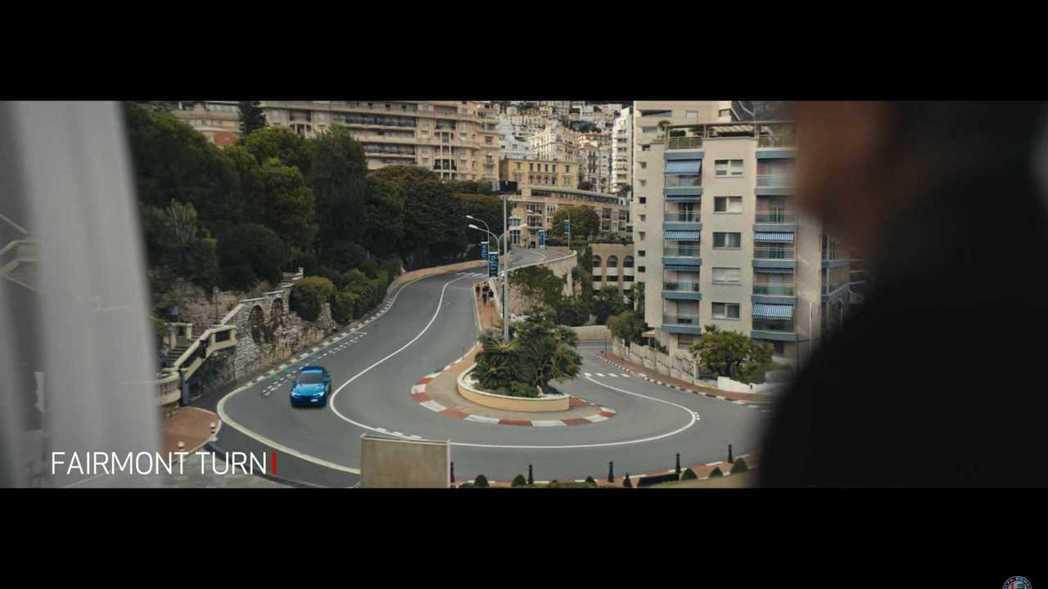 有名的費蒙酒店髮夾彎(Fairmont Hairpin)。 摘自Alfa Rom...